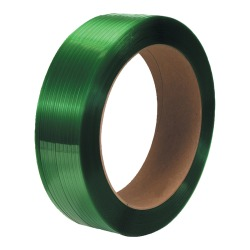 "Office Depot® Brand Smooth Polyester Strapping, 1/2"" x 3,600', Green, Pack Of 2 Rolls"