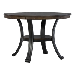 "Powell Vinessa Dining Table, 30"" x 45"", Rustic Umber"