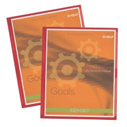 Office Depot® Brand Display Front Pocket Folders, Red