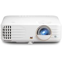 ViewSonic PX748-4K - DLP projector - 4000 ANSI lumens - 3840 x 2160 - 16:9 - 4K