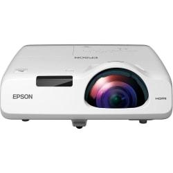 Epson® PowerLite 530 Short-Throw LCD Projector, White