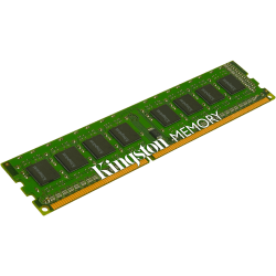 Kingston ValueRAM 4GB DDR3 SDRAM Memory Module - For Motherboard - 4 GB (1 x 4 GB) - DDR3-1333/PC3-10600 DDR3 SDRAM - CL9 - 1.50 V - Non-ECC - Unbuffered - 240-pin - DIMM
