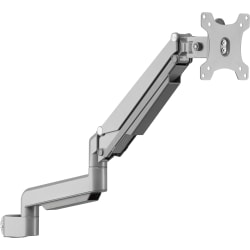 Lorell® Adjustable Single-Monitor Arm, Gray