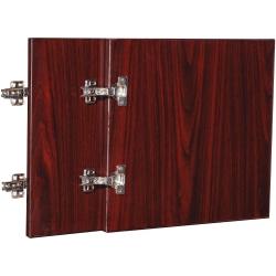 """Lorell® Essentials Series Hutch Door, For 30""""W Wall Mount Open Hutch, Mahogany"""
