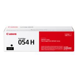 Canon 054 High-Yield Toner Cartridge, CRG 054H K, Black