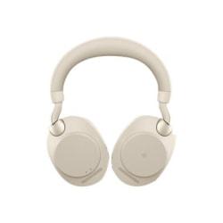 Jabra Evolve2 85 Headset - Stereo - Over-the-head - Binaural - Beige