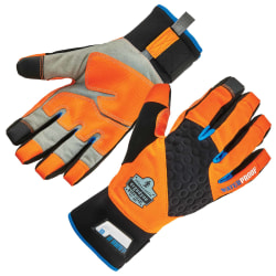 Ergodyne ProFlex 818WP Tena-Grip™ Thermal Waterproof Winter Work Gloves, Large, Orange