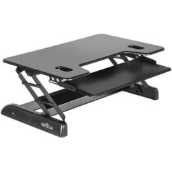 """VariDesk Tall 40 Standing Desk Converter, 4-3/4""""H x 40""""W x 28""""D, Black"""