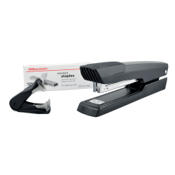 Office Depot® Brand Premium Full-Strip Stapler Combo With Staples And Remover, Black
