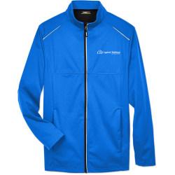 Custom Core365® Men's Techno Lite 3-Layer Knit Jacket, Assorted Colors