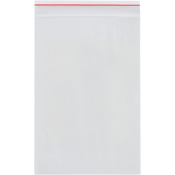 "Minigrip® 4-Mil Reclosable Poly Bags, 6"" x 8"", Case Of 1,000"