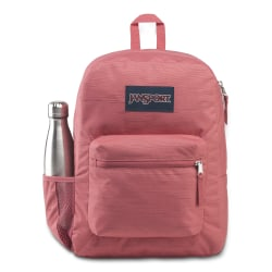 "JanSport® Cross Town Remix Backpack With 15"" Laptop Pocket, Slate Rose"