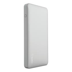 Belkin® Pocket Power Portable Charger, 10,000 mAh, Silver, F7U020BTSLV