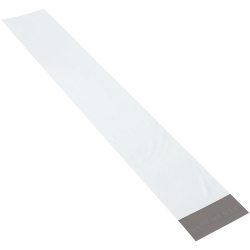 """Partners Brand Long Poly Mailers 6"""" x 39"""", Pack of 100"""