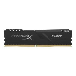 HyperX FURY - DDR4 - kit - 128 GB: 4 x 32 GB - DIMM 288-pin - 3200 MHz / PC4-25600 - CL16 - 1.35 V - unbuffered - non-ECC - black