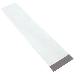 """Partners Brand Long Poly Mailers 9 1/2"""" x 45"""", Pack of 50"""