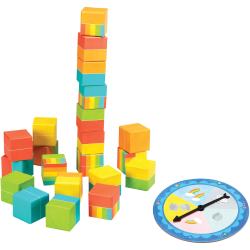 Educational Insights My First Game Tumbleos - Theme/Subject: Learning - Skill Learning: Game, School, Creativity, Color Matching, Fine Motor, Number, Counting, Language - 3-5 Year
