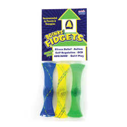 """Endless Possibilities Boinks® Fidgets™, 3 1/4"""", Assorted Colors, Pack Of 3"""