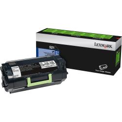 Lexmark™ 521 Return Program Black Toner Cartridge