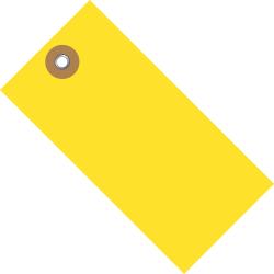 "Tyvek® Shipping Tags, #8, 6 1/4"" x 3 1/8"", Yellow, Box Of 100"