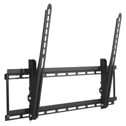 """Lorell Wall Mount for TV - Black - 42"""" to 90"""" Screen Support - 150 lb Load Capacity"""