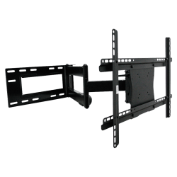 """Lorell Wall Mount for Flat Panel Display - Black - 42"""" to 70"""" Screen Support - 150 lb Load Capacity"""