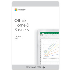 Microsoft Office Home and Business 2019, For 1 PC/Mac, Download