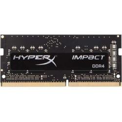 Kingston HyperX Impact 16GB (2 x 8GB) DDR4 SDRAM Memory Kit - 16 GB (2 x 8 GB) - DDR4-3200/PC4-25600 DDR4 SDRAM - 3200 MHz - CL20 - 1.20 V - Non-ECC - Unbuffered - 260-pin - SoDIMM