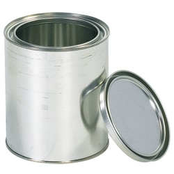Office Depot® Brand Paint Cans, 1 Quart, Silver, Case Of 36
