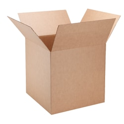 "Office Depot® Brand Corrugated Boxes, 20"" x 20"" x 20"", 40% Recycled, Kraft, Pack Of 5"