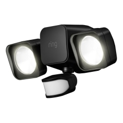 Ring Smart Lighting Floodlight, Black, 5B21S8-BEN0