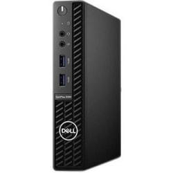 Dell OptiPlex 3000 3080 Desktop Computer - Intel Core i3 10th Gen i3-10100T Quad-core (4 Core) 3 GHz - 8 GB RAM DDR4 SDRAM - 256 GB SSD - Micro PC - Windows 10 Pro 64-bit - Intel DDR4 SDRAM - English Keyboard - 65 W