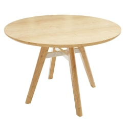 """Safco® Resi Sitting-Height Table, 29-1/2""""H x 42""""W x 42""""D, Natural"""