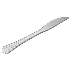 Eco-Products Reflections Bagged Knives, Silver, Pack Of 40