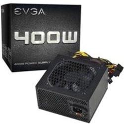 EVGA 400W Power Supply - Internal - 120 V AC, 220 V AC Input - 400 W / 3.3 V DC, 5 V DC, 12 V DC, -12 V DC, 5 V DC - 1 +12V Rails - 1 Fan(s) - 75% Efficiency