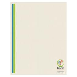 """Custom Full-Color Raised Print Stationery Letterhead, 8-1/2"""" x 11"""", Off-White Linen, Box Of 250"""