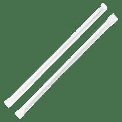 Genuine Joe Jumbo Straight Straws, Box Of 500