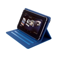 """Kyasi Seattle Classic Universal Folio Case For 7 - 8"""" Tablets, October Blue, KYSCUN78C5"""