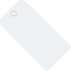 """Office Depot® Brand Color Shipping Tags, #1, 2 3/4"""" x 1 3/8"""", White, Box Of 1,000"""