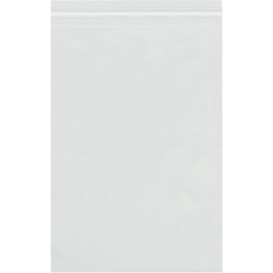 """Office Depot Brand 4 Mil Reclosable Poly Bags 8"""" x 18"""", Box of 500"""
