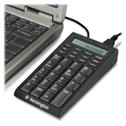 Kensington® Notebook USB Keypad/Calculator
