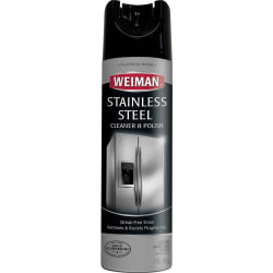 Weiman® Stainless Steel Cleaner And Polish Aerosol Spray, 17 Oz Can
