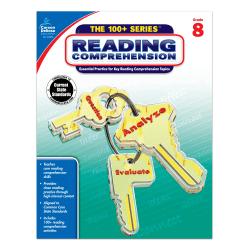 Carson-Dellosa™ 100+ Series™ Reading Comprehension Workbooks, Grade 8