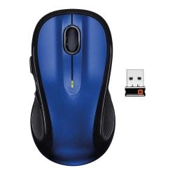Logitech® M510 Wireless Laser Mouse, Deep Blue, 910-002533