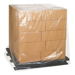 """Office Depot Brand 1 Mil Clear Pallet Covers 36"""" x 27"""" x 65"""", Box of 100"""