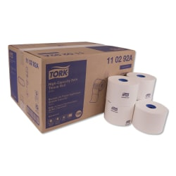 """Tork® Advanced High-Capacity 2-Ply Toilet Paper, 4"""" x 3 3/4"""", White, Pack Of 36 Rolls"""