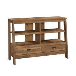 "Sauder® Trestle Anywhere Console for 42"" TV, Vintage Oak"