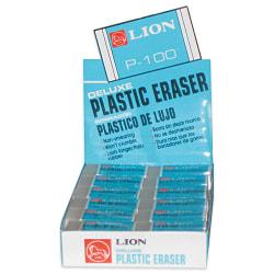 Lion Plastic Eraser