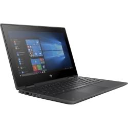 "HP ProBook x360 11 G5 EE 11.6"" Touchscreen 2 in 1 Notebook - HD - 1366 x 768 - Intel Celeron N4120 Quad-core (4 Core) 1.10 GHz - 4 GB RAM - 64 GB Flash Memory - Windows 10 Pro - Intel UHD Graphics 600 - 16.75 Hour Battery Run Time"