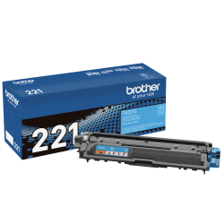 Brother® TN-221C Cyan Toner Cartridge